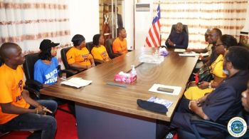 President Weah Meeting 'March for Justice' Representatives
