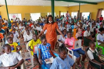 First Lady Reaffirms Support to Girls Development