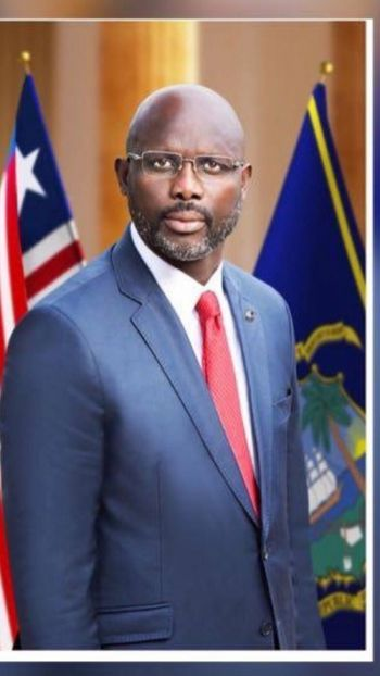 His Excellency Dr. George Manneh Weah