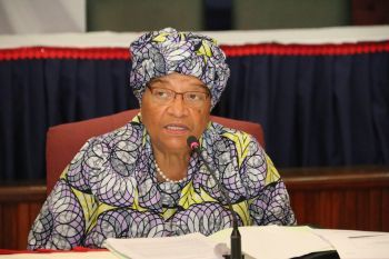 President Sirleaf Issues Executive Order # 83.