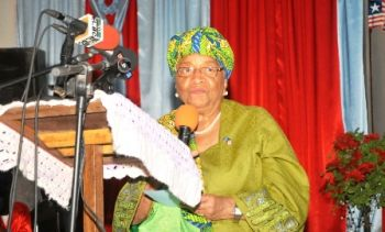 President Sirleaf Launches 'No New Cases Campaign' in the Fight to Eradicate Ebola by the End of 2014.