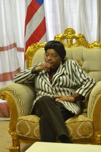 President Sirleaf Pays Two-Day Working Visit to Nigeria.