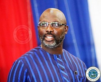 President Weah Inspects Construction Works of NPA's New Headquarters Complex