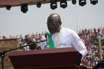 President Weah adddresses the nation as 24th President of Liberia