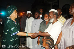 Sheik Kafumba Konneh welcomes President Johnson Sirleaf's gestures of solidarity and unity.