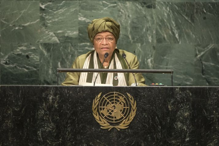 President Sirleaf Addresses the 71st Session of the UN General Assembly; Expresses Confidence in the Ability of the UN in the Search for Global Peace & Security.