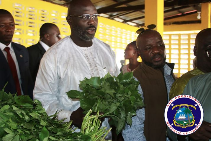"""We Are Working To Change, Make Liberia Better"" - Says President Weah"
