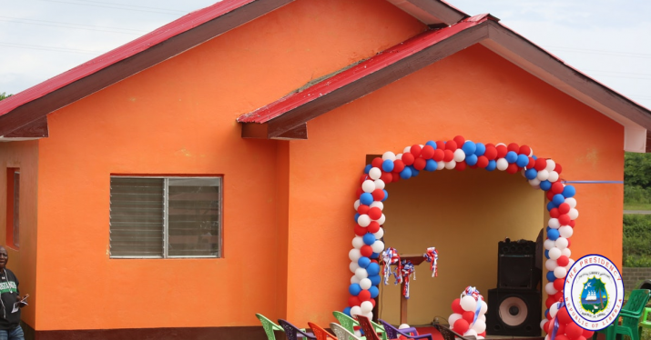 President Weah Launches US$8 Million Modern Rural Housing Project