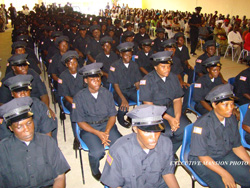 A cross-section of the graduates.